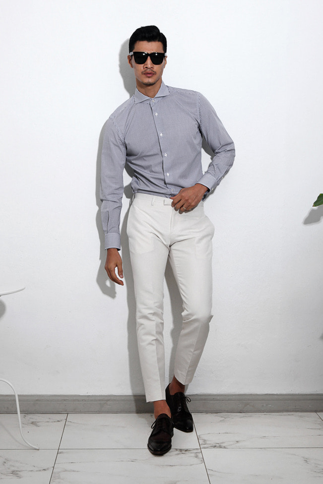 Linnell chino pants/4color[slim fit]