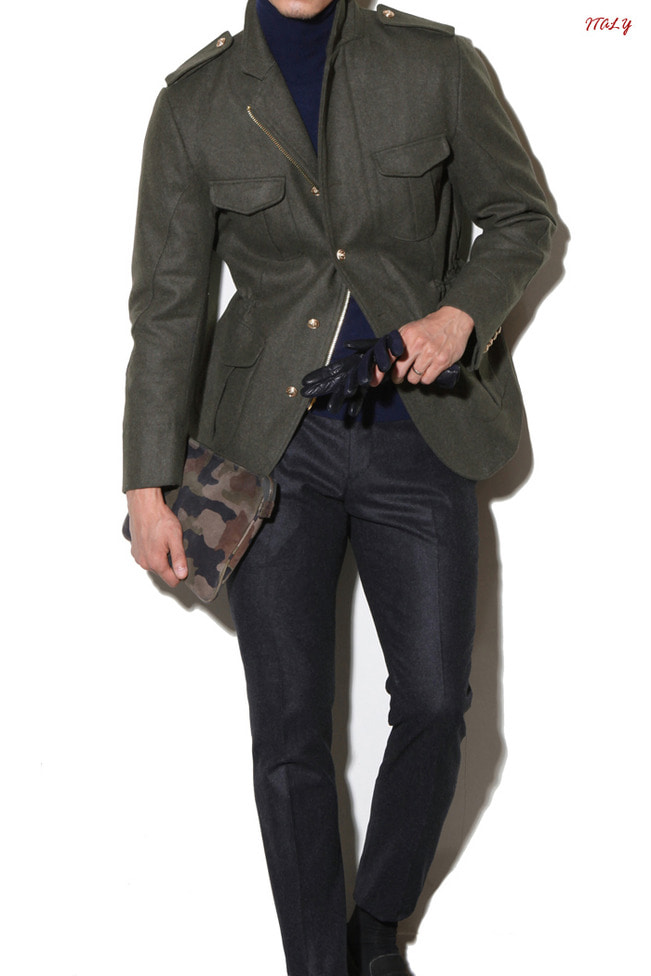 Take394 Italy IN.TES.PRA field jacket/khaki