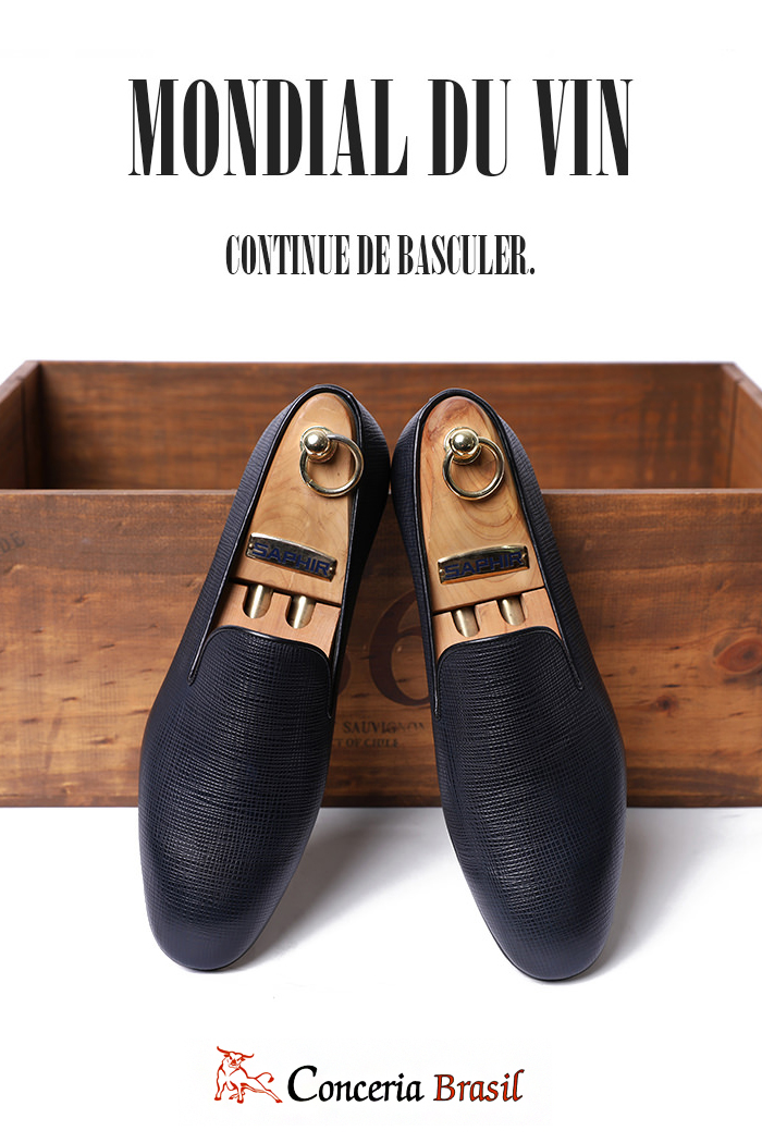 Take451 Artisan ITALY Conceria Brasil loafer-dark navy