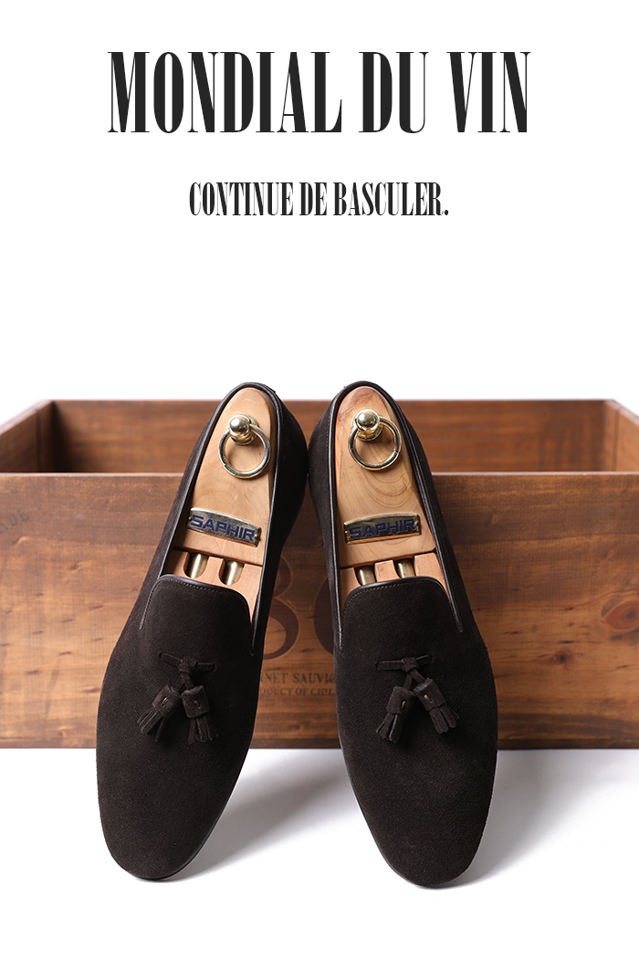 Take450 Artisan Mastrotto suede loafer/brown-베스트셀러!