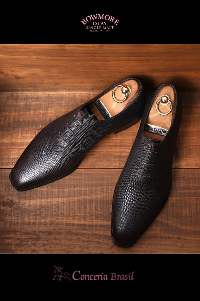 Take458 Artisan Conceria Brasil Shoes-Dark Brown