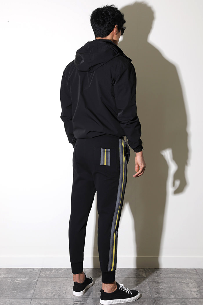 PUNISIEG JOGGERS PANTS-BLACK수입한정제품