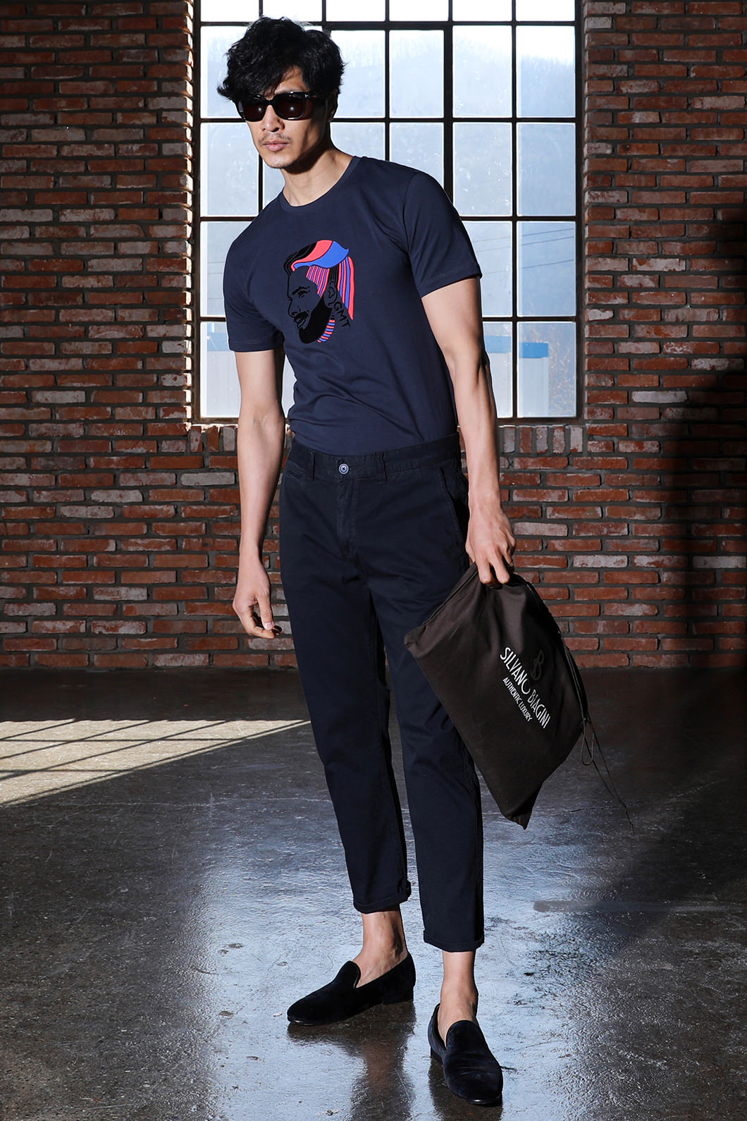 TOMMY ROUND T-SHIRT-3COLOR수입소량한정제품!