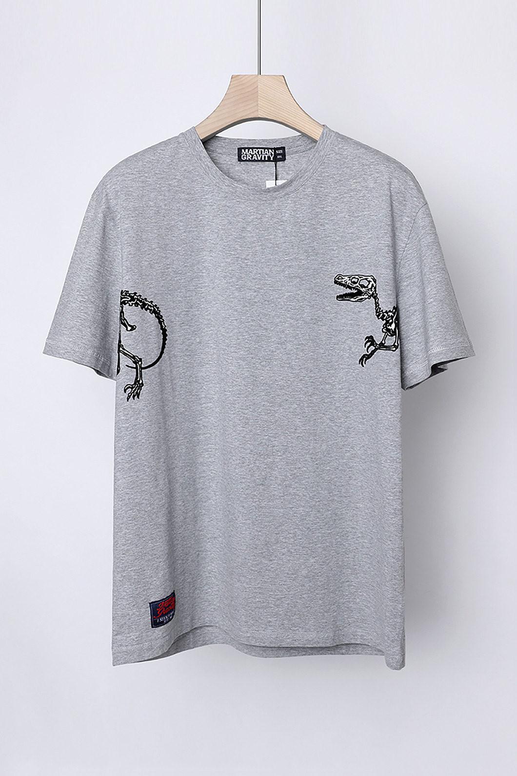 DINOSAUR ROUND T-SHIRT-3COLOR수입한정제품