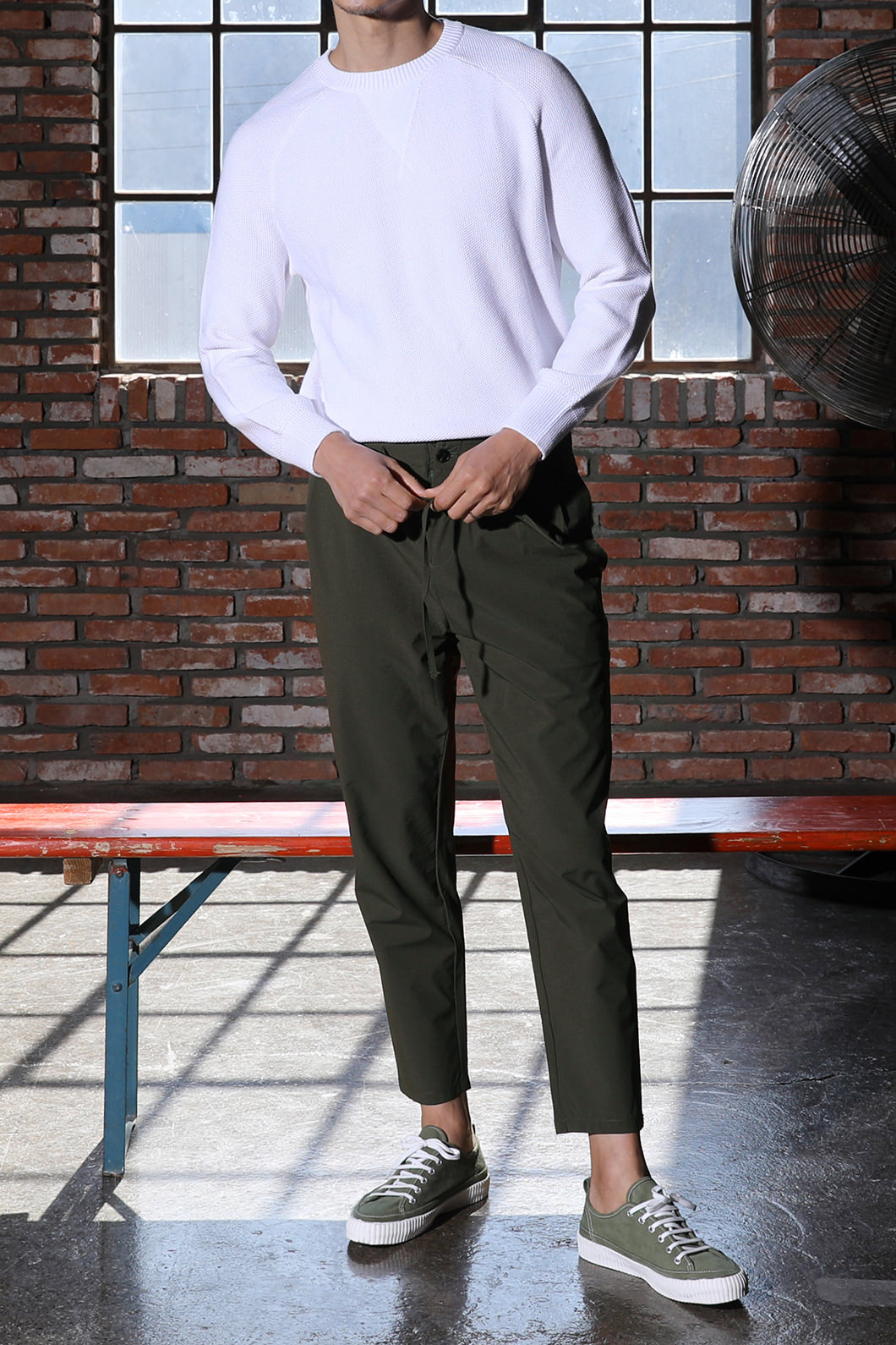 PAUL BANDING STRING PANTS-3COLOR