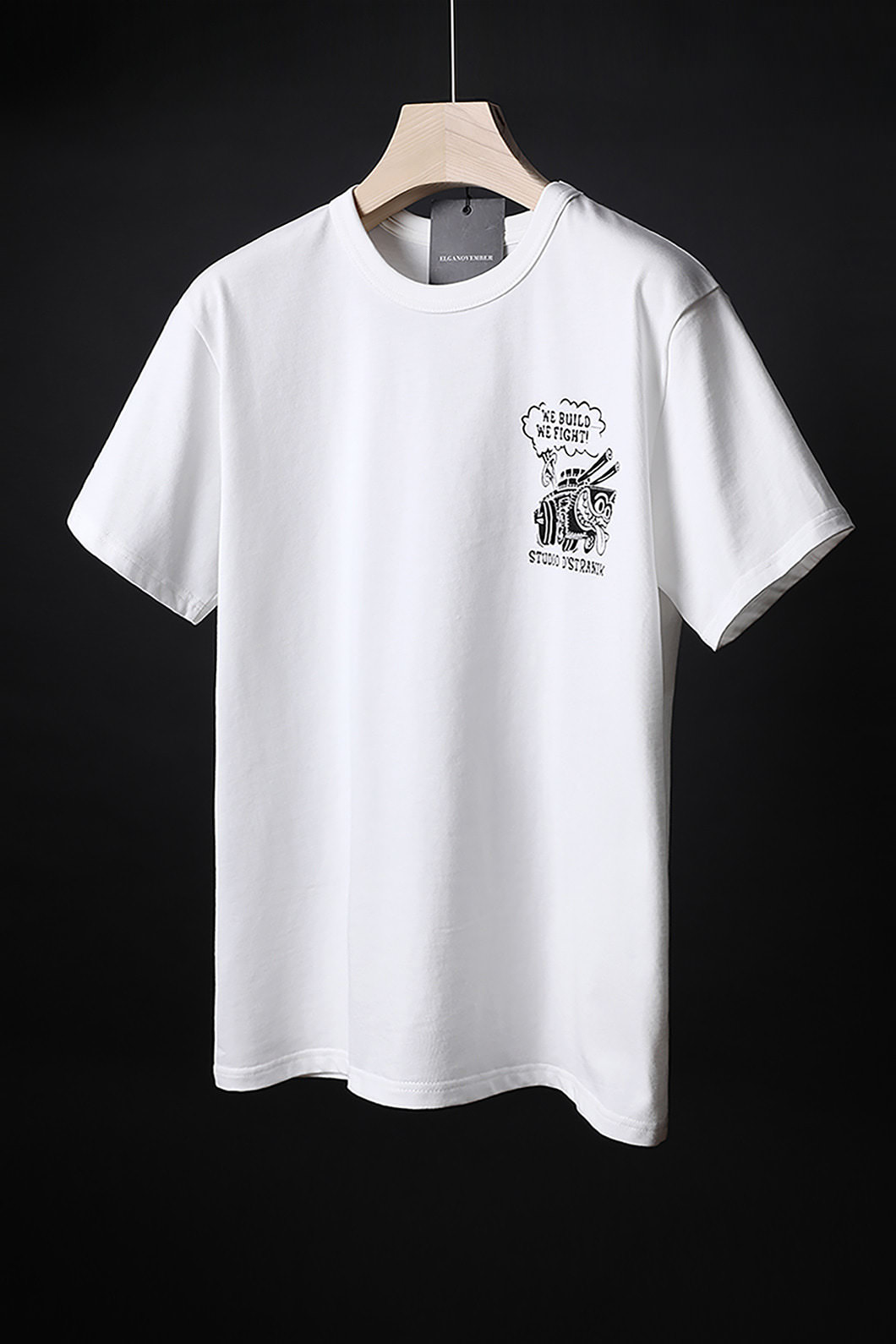 MCKEE CAPTAIN ROUND T-SHIRT-WHITE수입한정제품