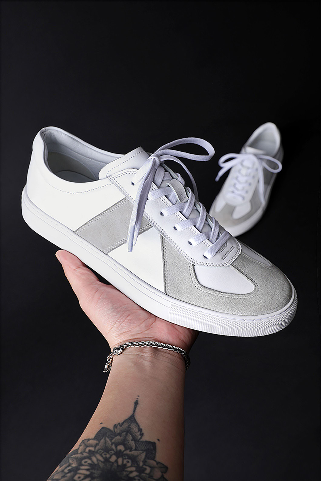 CONSTANTINE SNEAKERS-WHITE