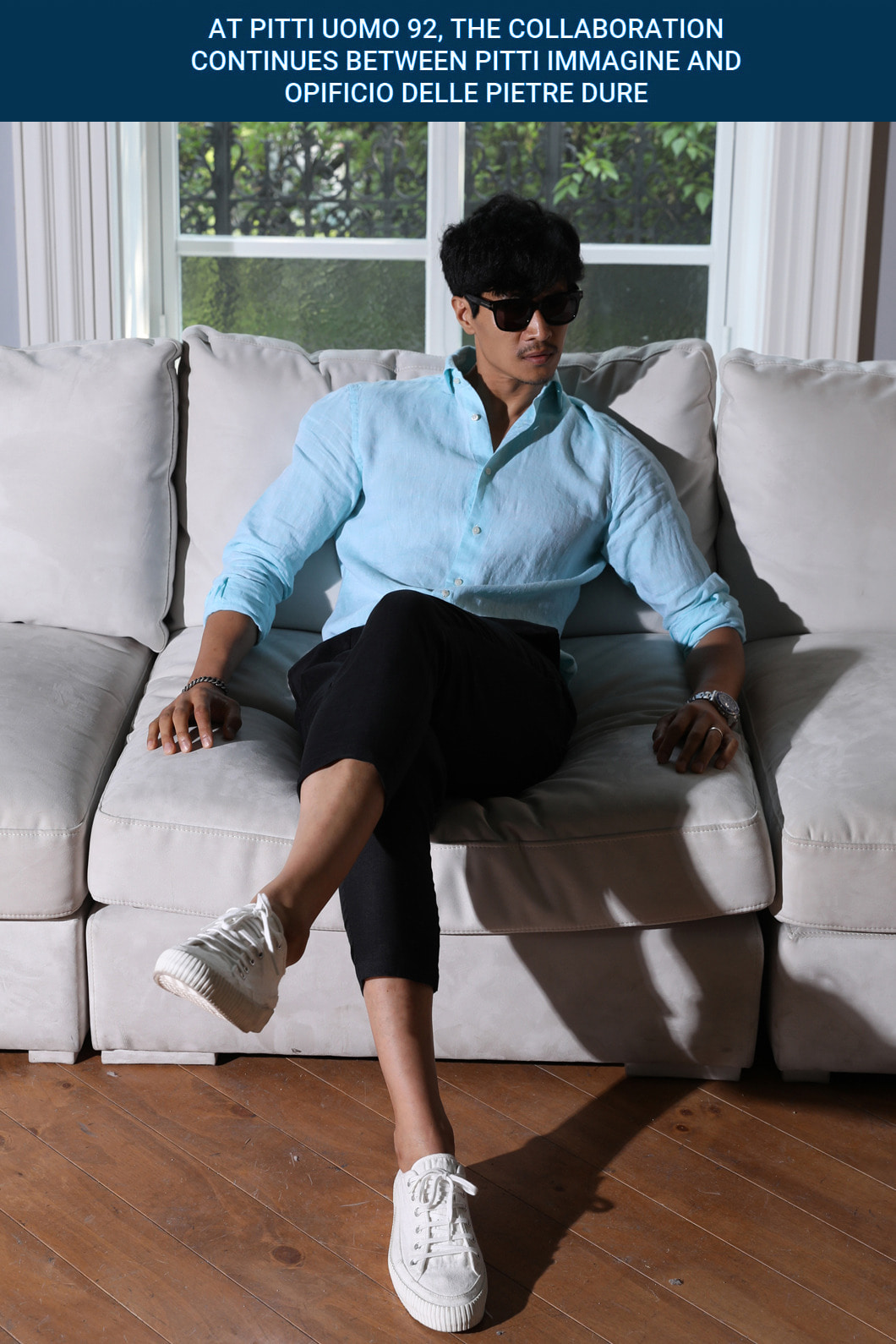 TAKE503 FRENCH LINEN SHIRT-MINT적극추천-베스트셀러!!