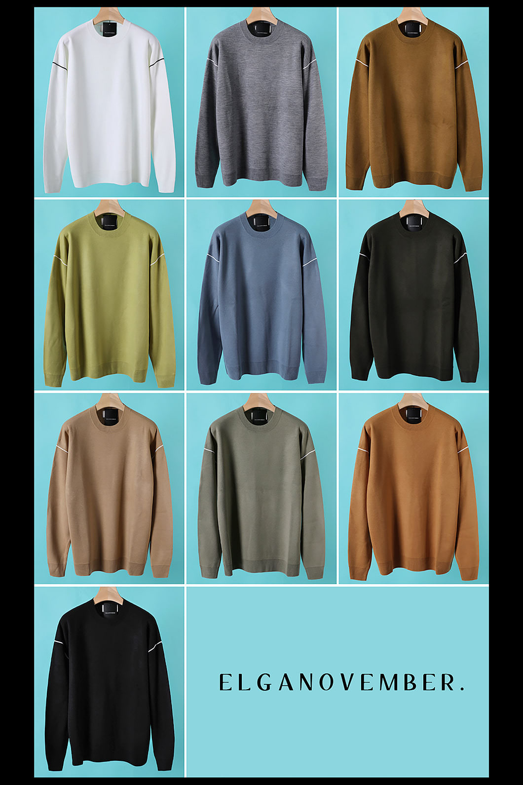 CHASTAIN ROUND KNIT-10COLOR