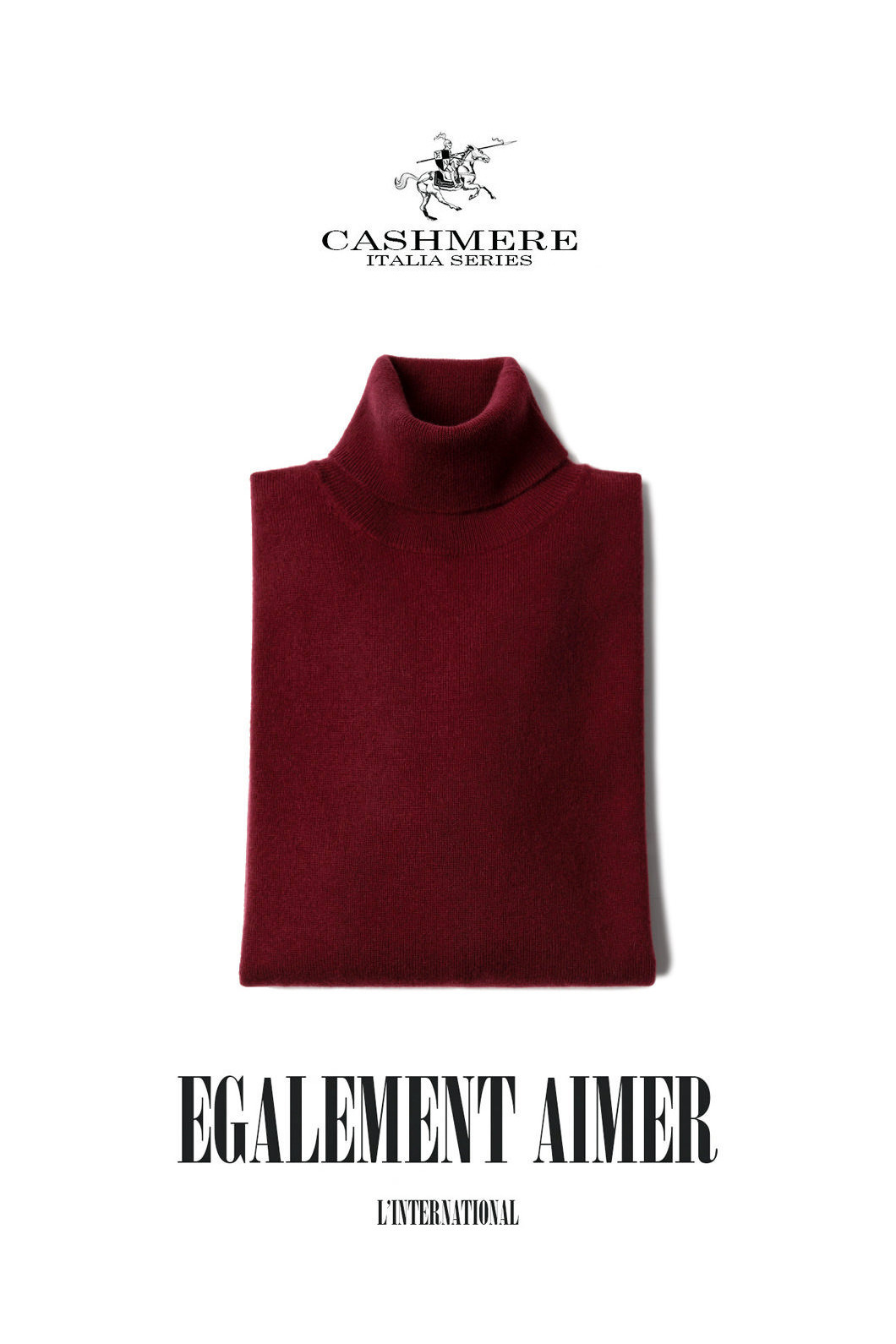 457 ROYAL CASHMERE TURTLENECK-FORTE WINE마지막수량 할인