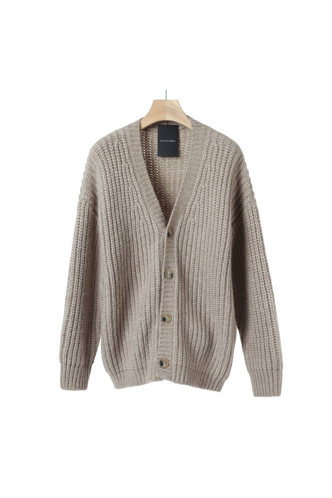 BRAMBELL KNIT CARDIGAN-3COLOR