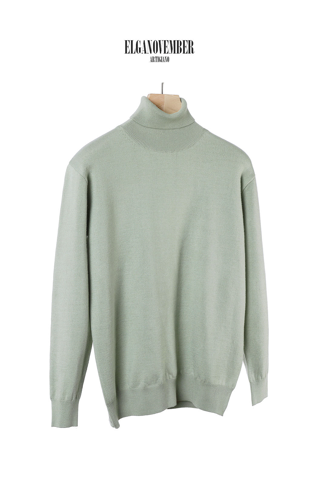 MENZEL CLASSIC POLO NECK SWEATER-5COLOR