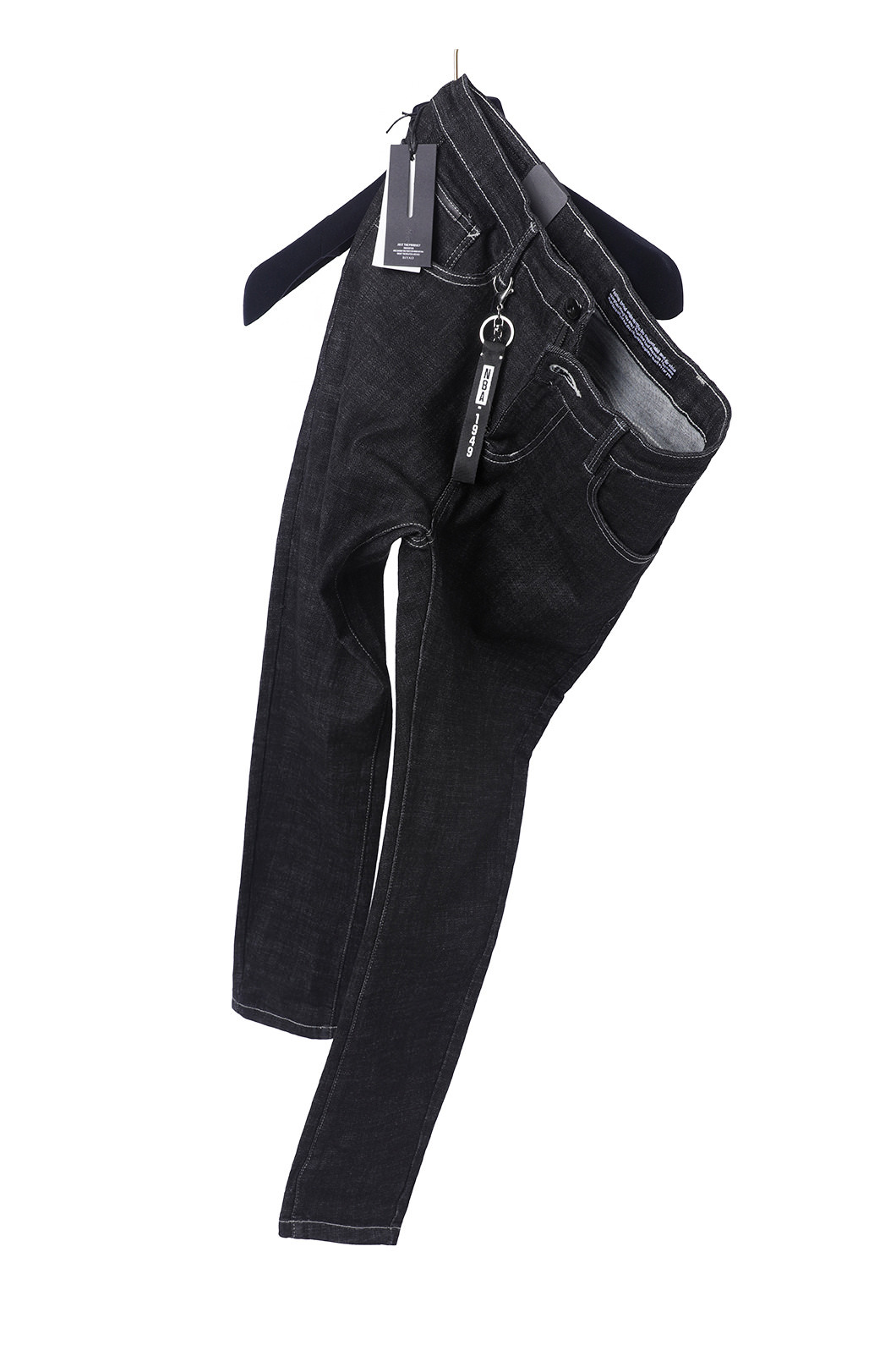 DIENE 1949 DENIM PANTS-BLACK