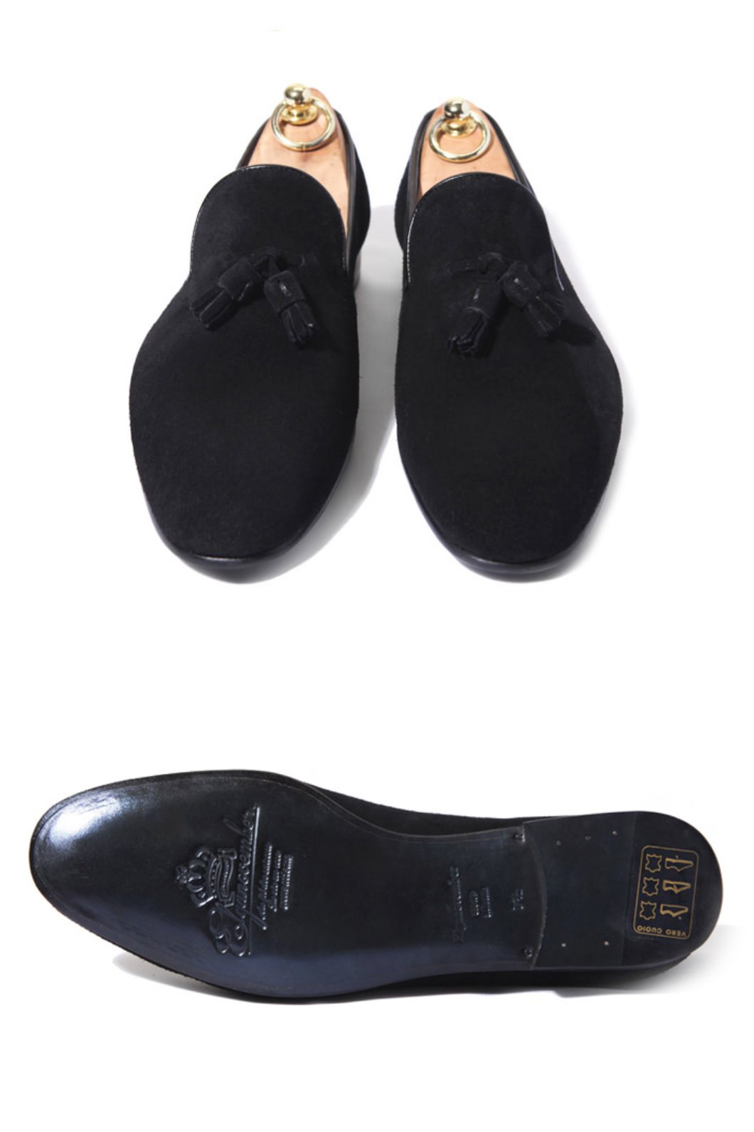 Take344 artisan slipper suede shoes/black할인인벤트!