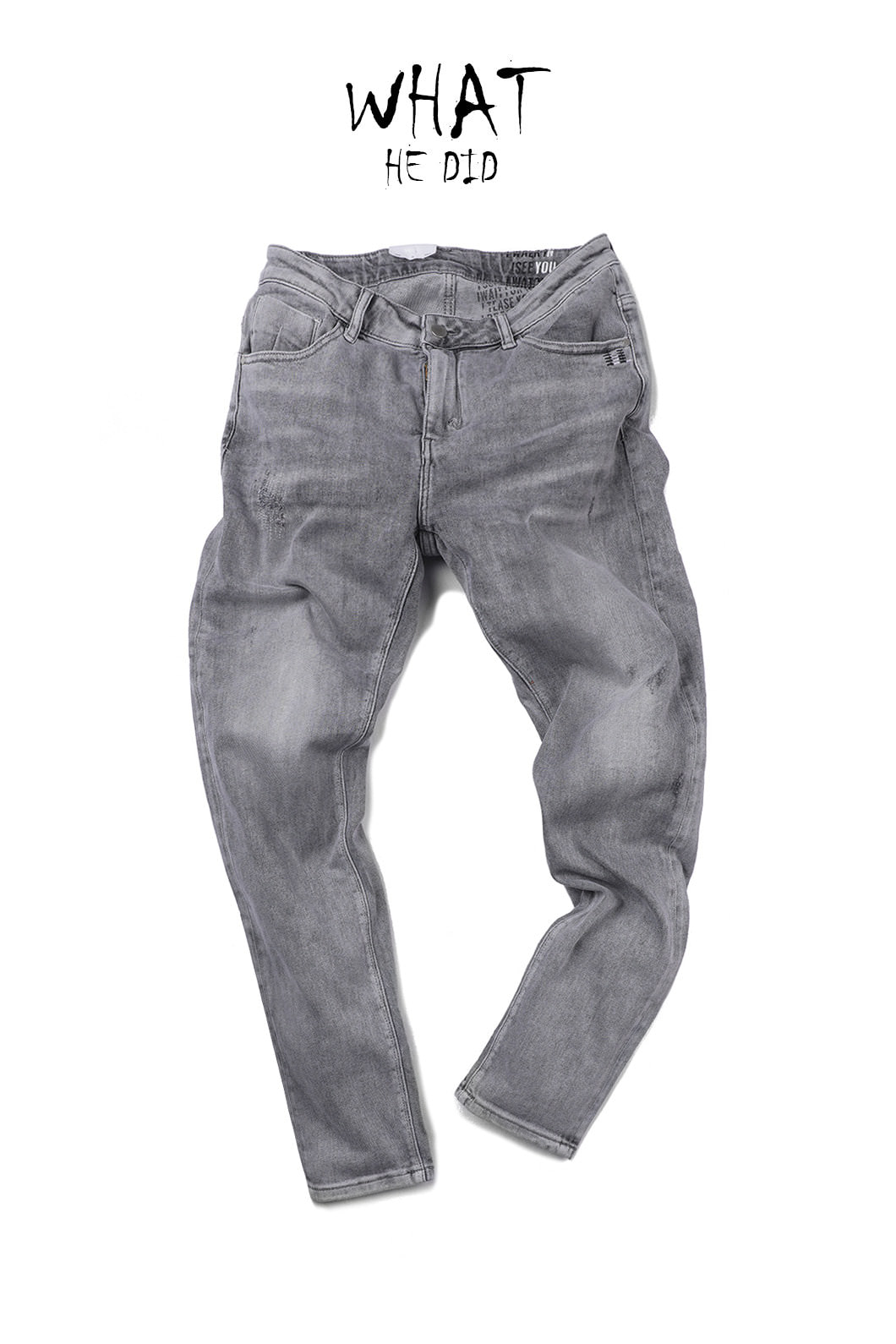 OGT 3281 PANTS-LIGHT GREY