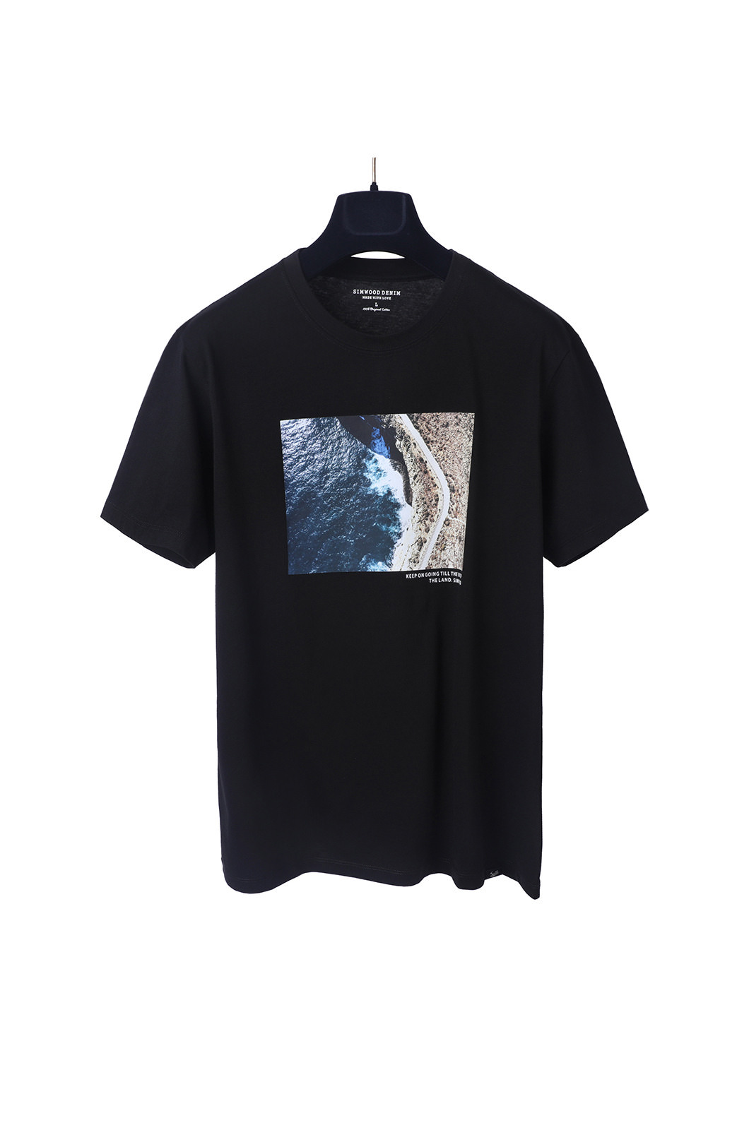 END OF THE LAND T-SHIRTS-BLACK소량 재입고