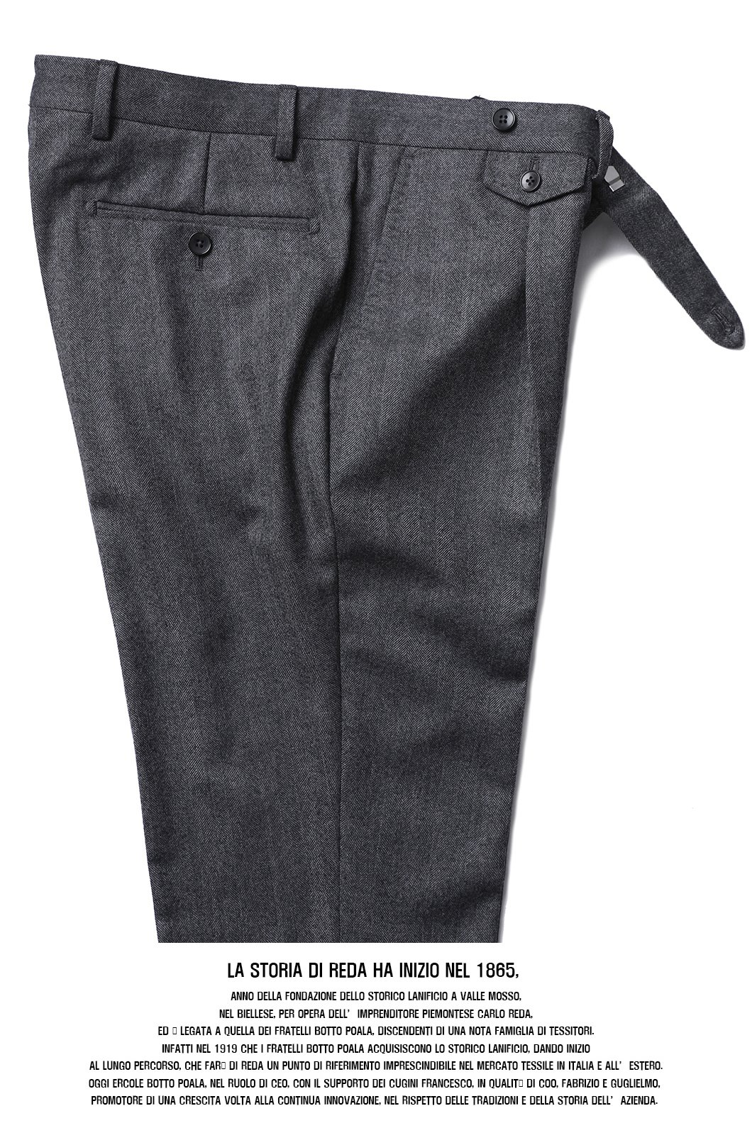 514 ITALY 1865 Herringbone PANTS-MIDDLE GRAY가을,겨울 추천팬츠