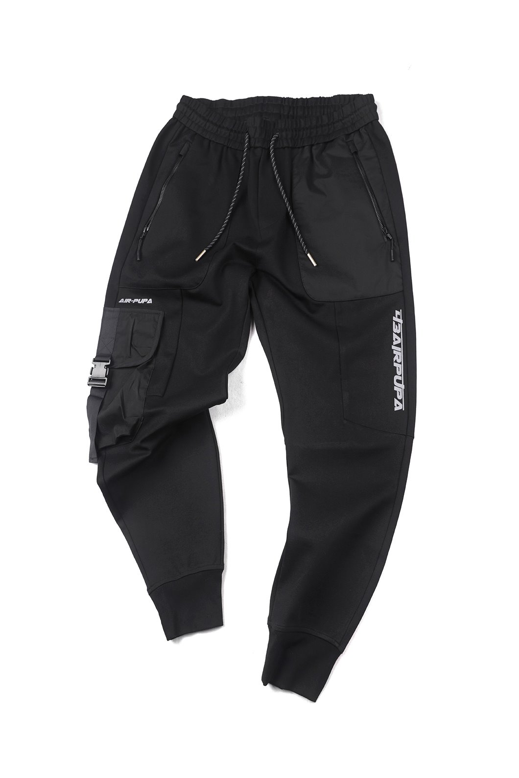 43AIRPUPA BANDING PANTS-BLACK