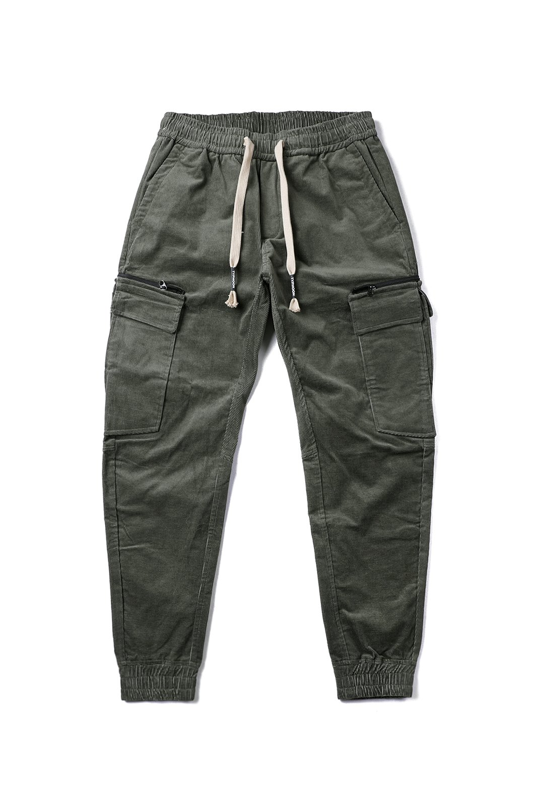 Typhoon corduroy cargo pants-2Color