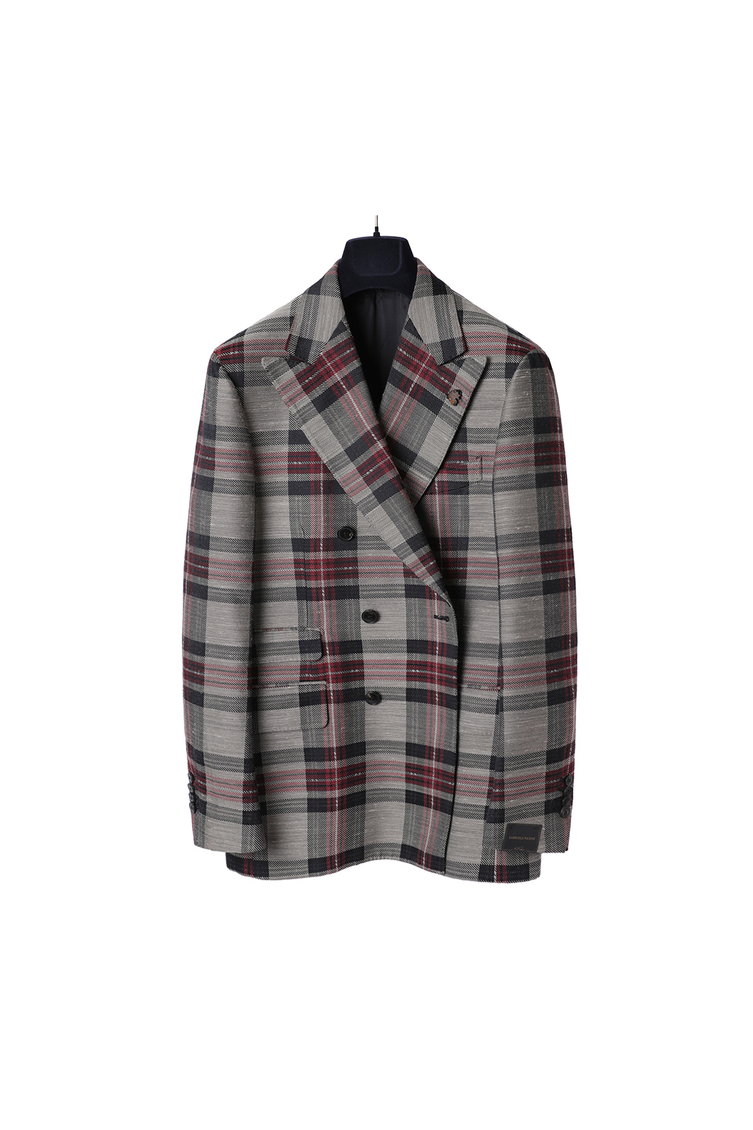 PASINI Ruddy Check Double Jacket