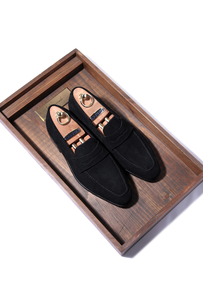 Take229 artisan loafer/black[black label series]
