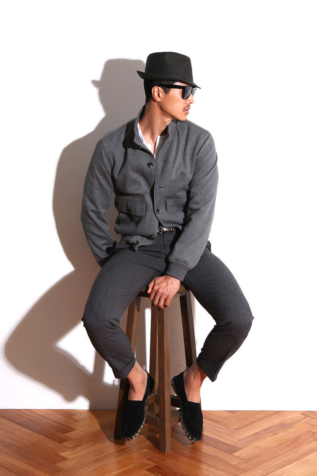Take245 ITALIA ARISTON uomini sono napoli blouson/gray