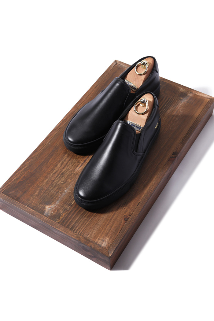 C.premium slipon shoes/black[leather100%][제작기간 일주일 소요]