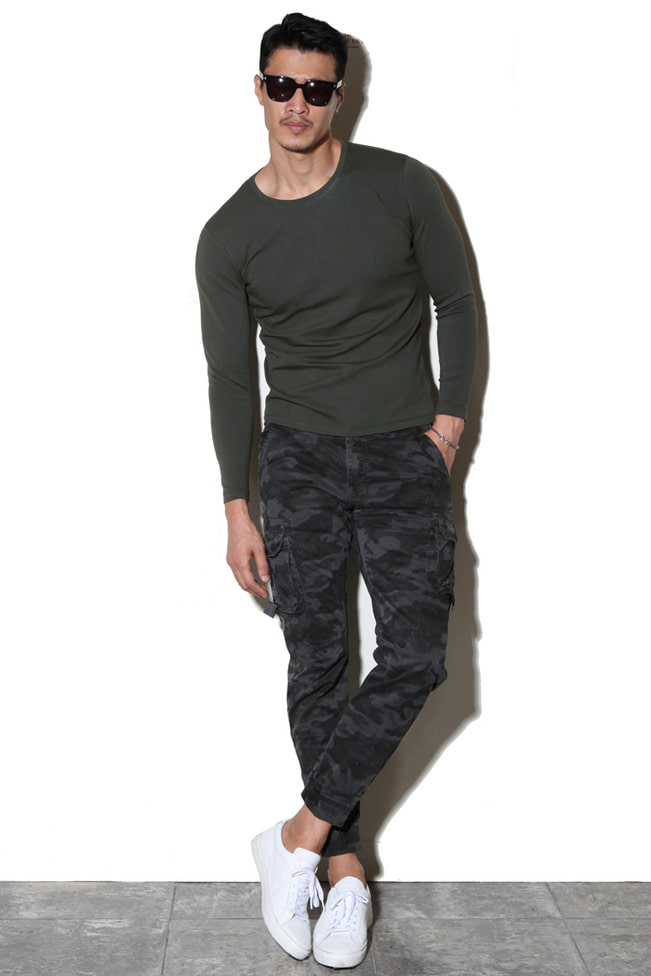 Quantum Military cargo joggers pants/2color[수입 한정모델 Best Seller]