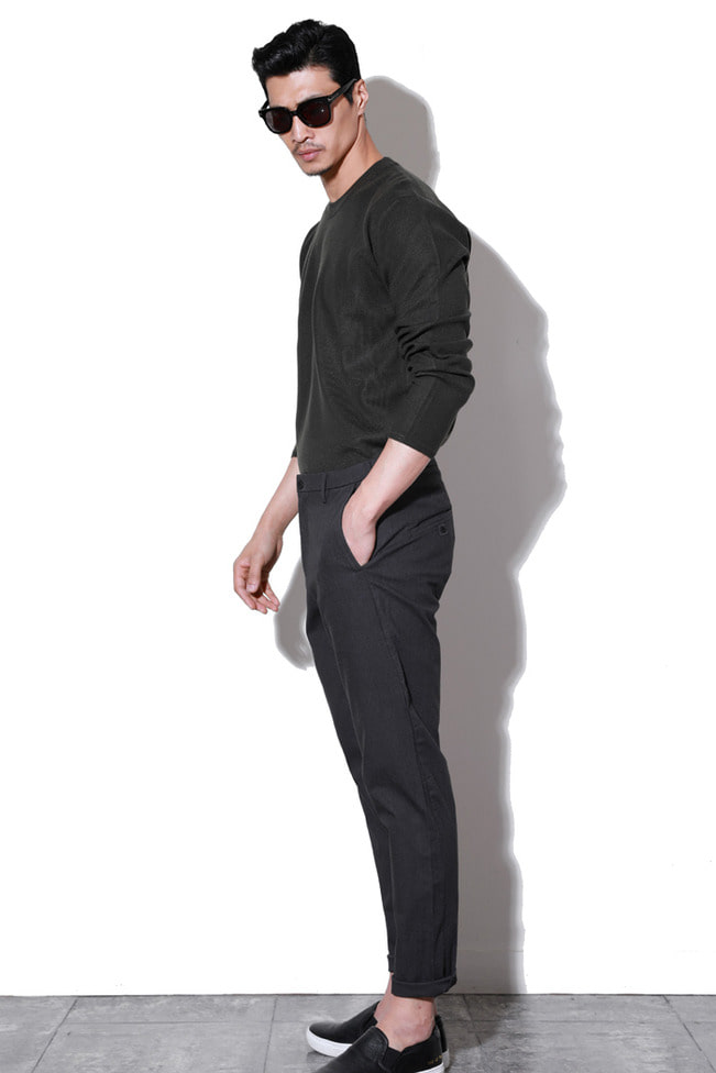 Miscell comfortable slacks pants/2color-수입 추천 제품