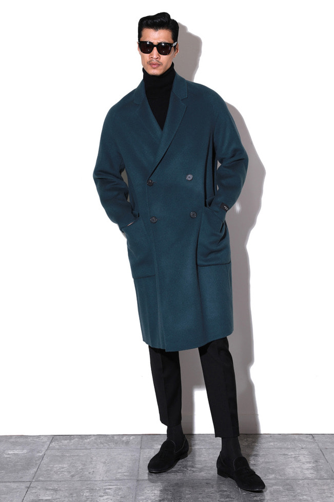 A-heritz Hand made double coat/3color-핸드 메이드 코트