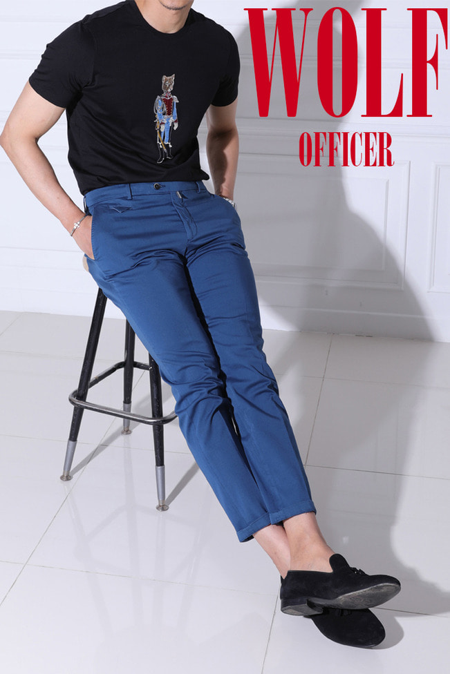 Wolf officer shirt/2color-수입한정모델-