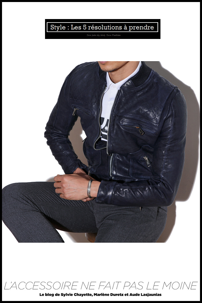 Revolver man stardium blouson/2color[italy leather100%-slimfit]