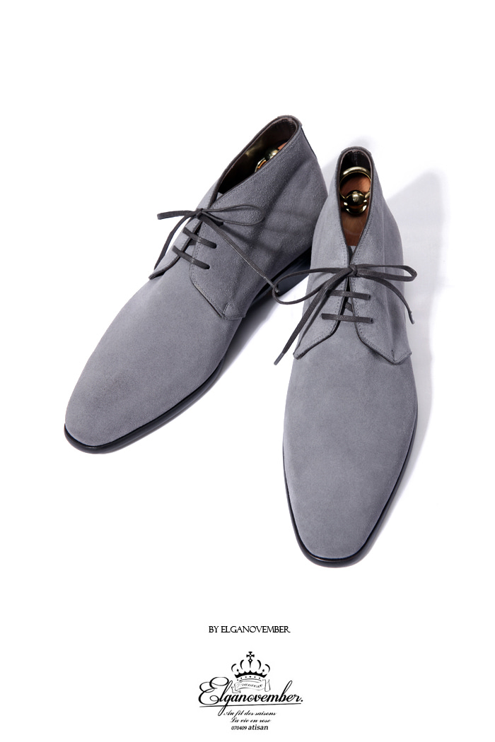 Take324 artisan chukka boots/gray