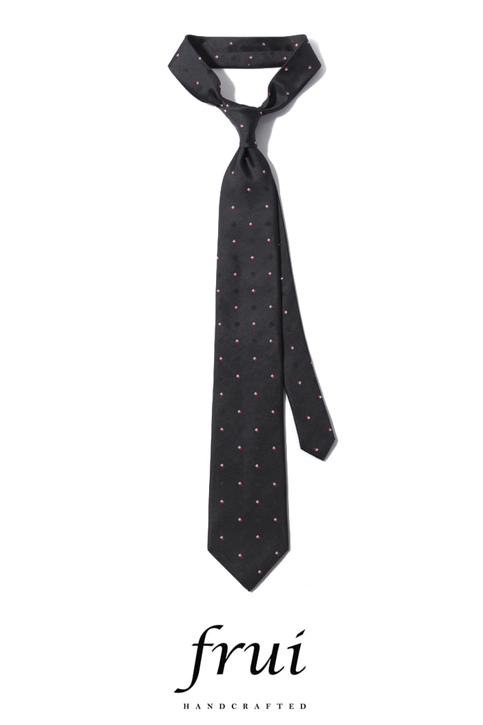 Frui Lyla Gray tie/gray[hand crafted-well made-silk100%]