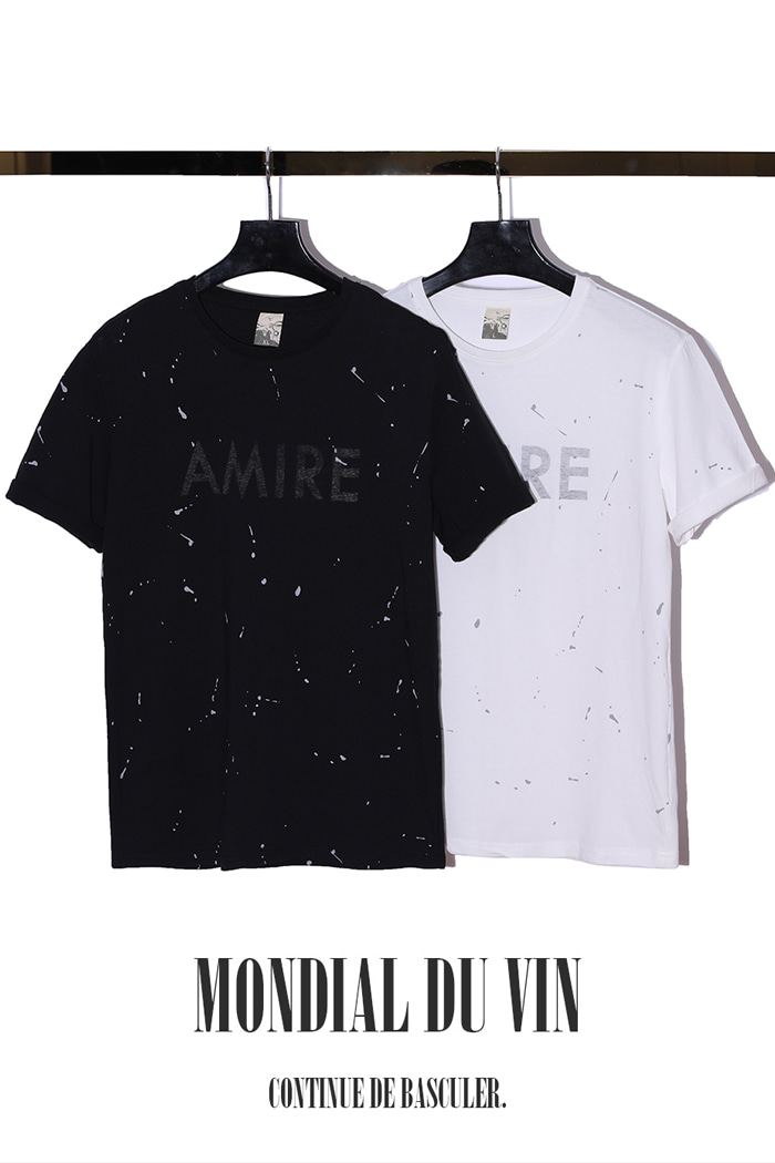 Amire t-shirt/2color[standard fit]-수입 소량 한정 제품-