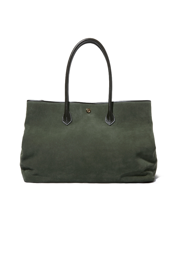 Khaki Suede Tote bag[premium-special order-limited]