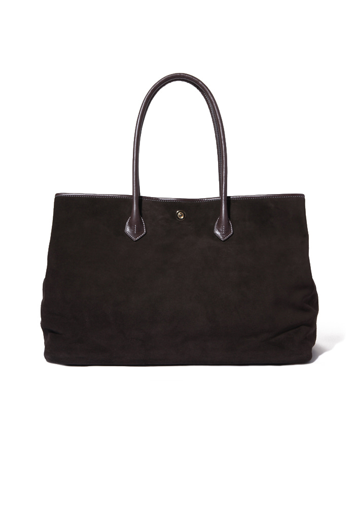 Dark brown Suede Tote bag-2018FW 재입고완료-