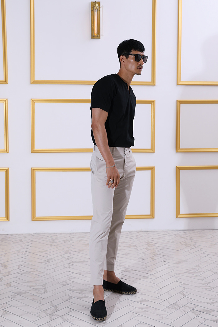 Estate chino pants/4color