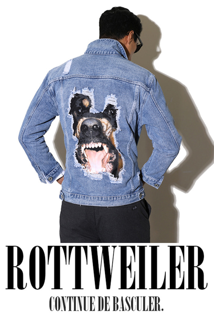 Rottweiler denim jacket-Light blue 19SS 소량 재입고 완료!