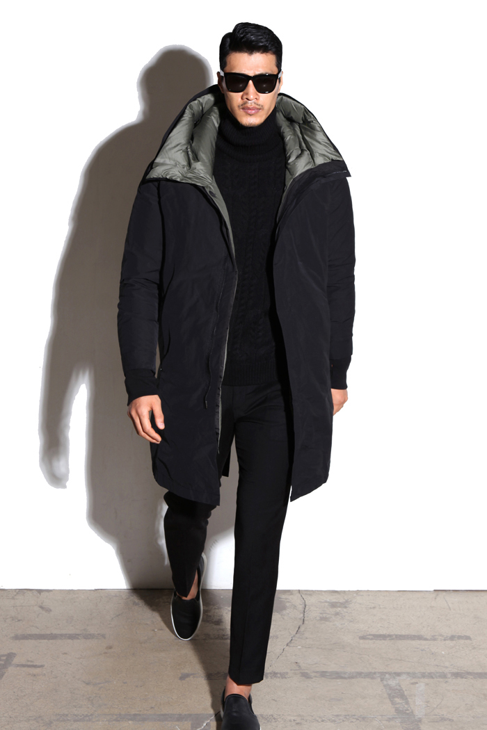 HCH.good inside padding coat/black-극소량 한정수량