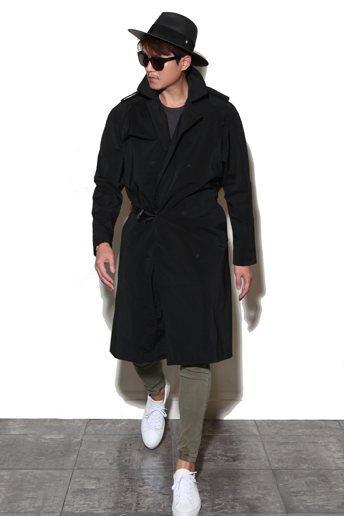 Iahn Alonso trench coat/2color-수입 한정 모델