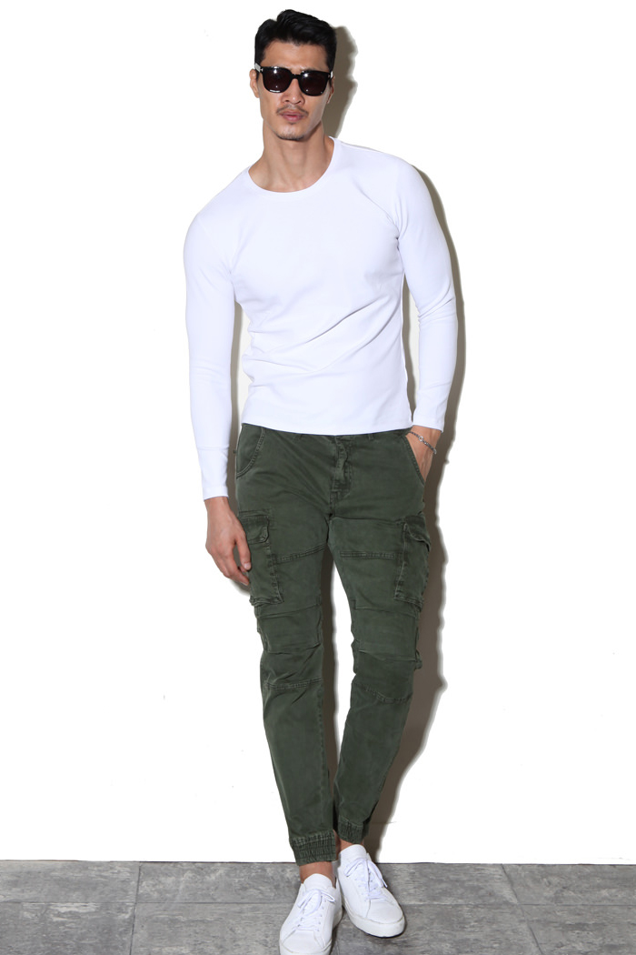 MODIFY washed cargo joggers pants/2color-수입 한정 모델
