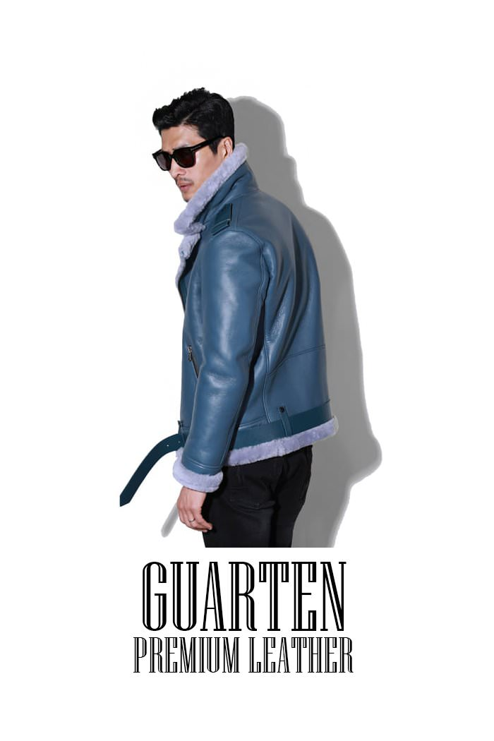 Guarten premium leather rider mustang/2color2018FW 소량 재입고완료!