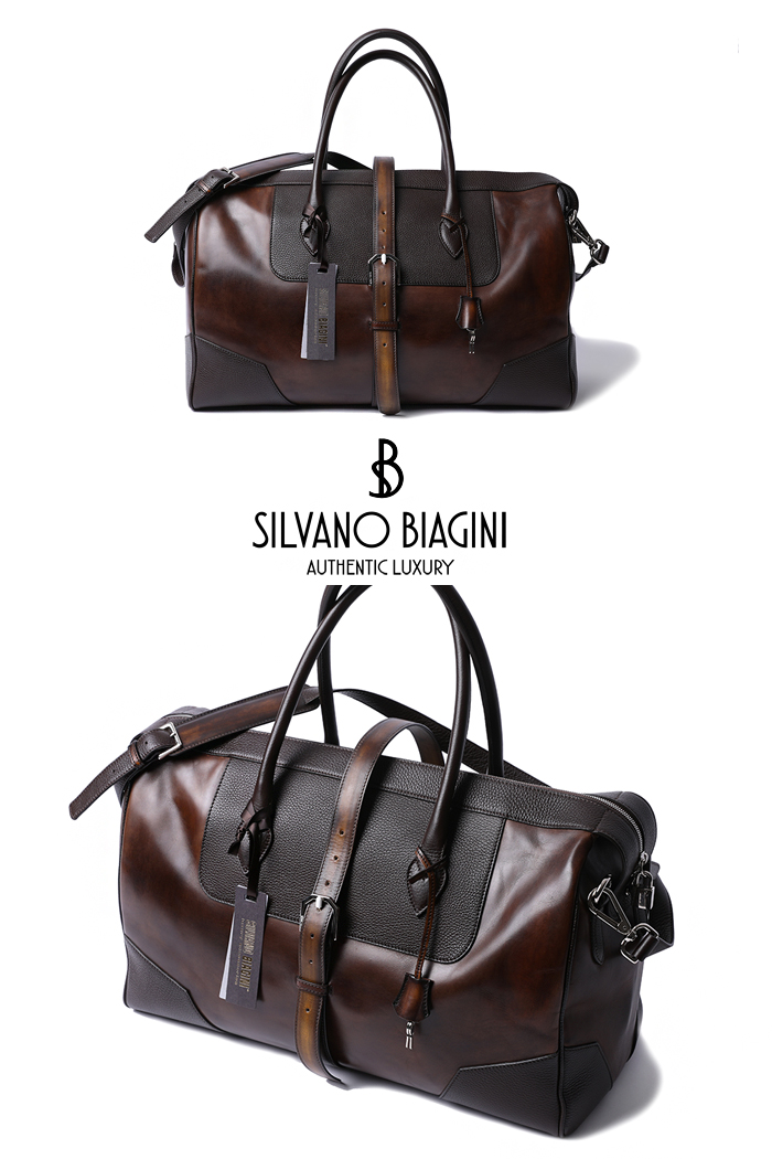 SILVANO BIAGINI BOSTON BAG-BROWN2020 소량 재입고완료!