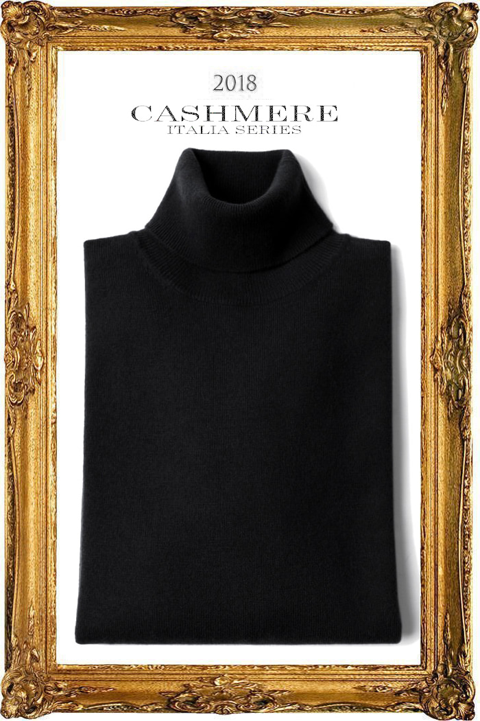 TAKE455 ROYAL CASHMERE TURTLENECK-BLACK[ITALIA SERIES]캐시미어 터틀넥-BEST SELLER!-품절임박!-마지막수량30%SALE