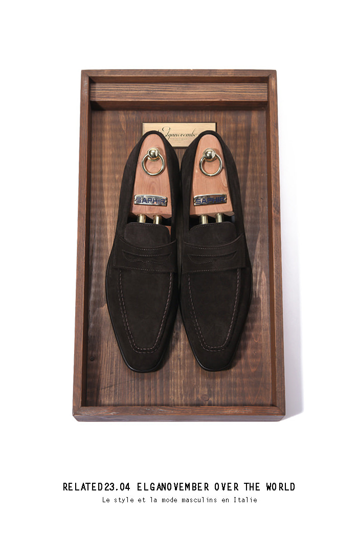 Take219 artisan loafer/dark brown[black label series]
