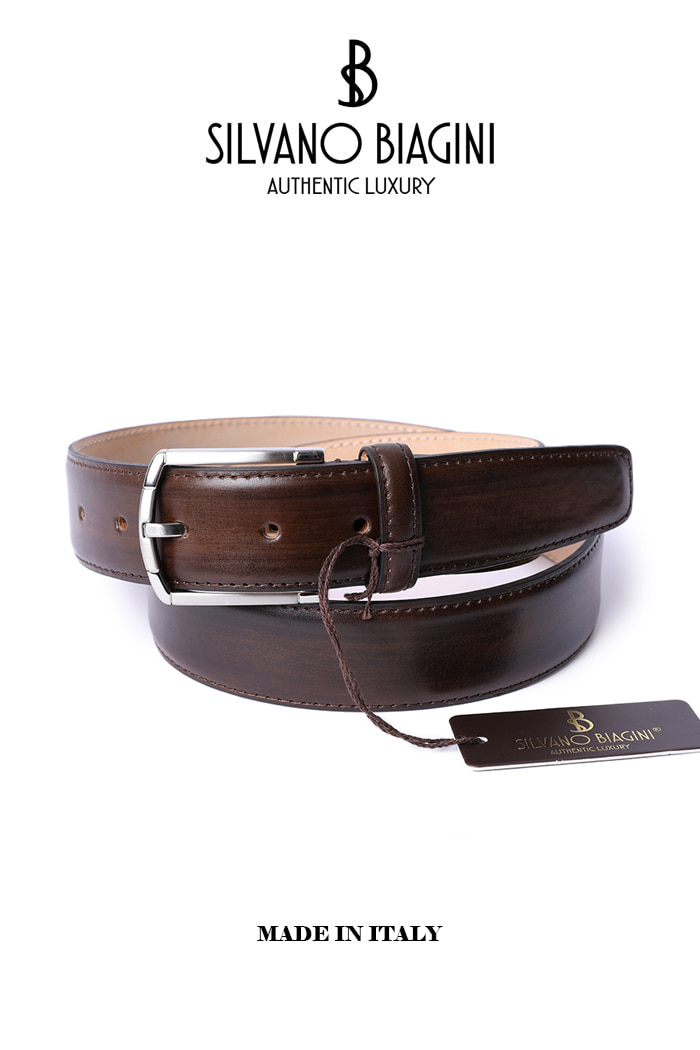 SILVANO BIAGINI BELT-BROWN