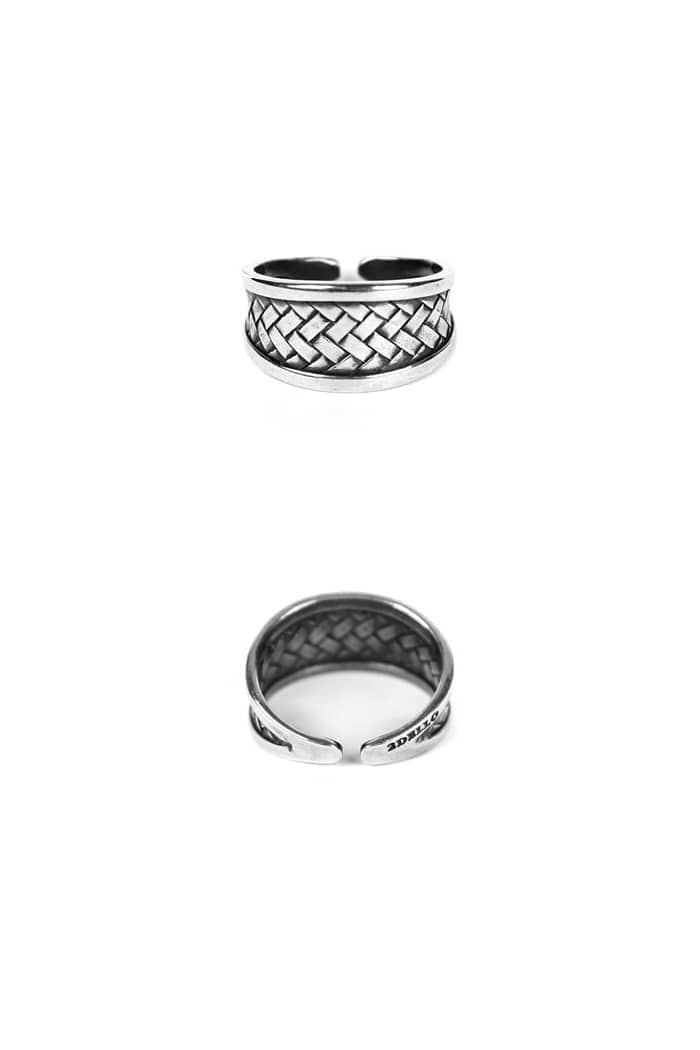 Weaving ring[premium-hand made]적극추천