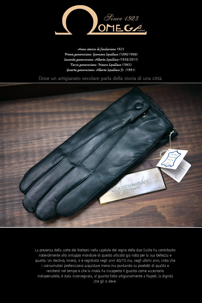 Take313 italy Omega Gloves/dark green-극소량 한정판