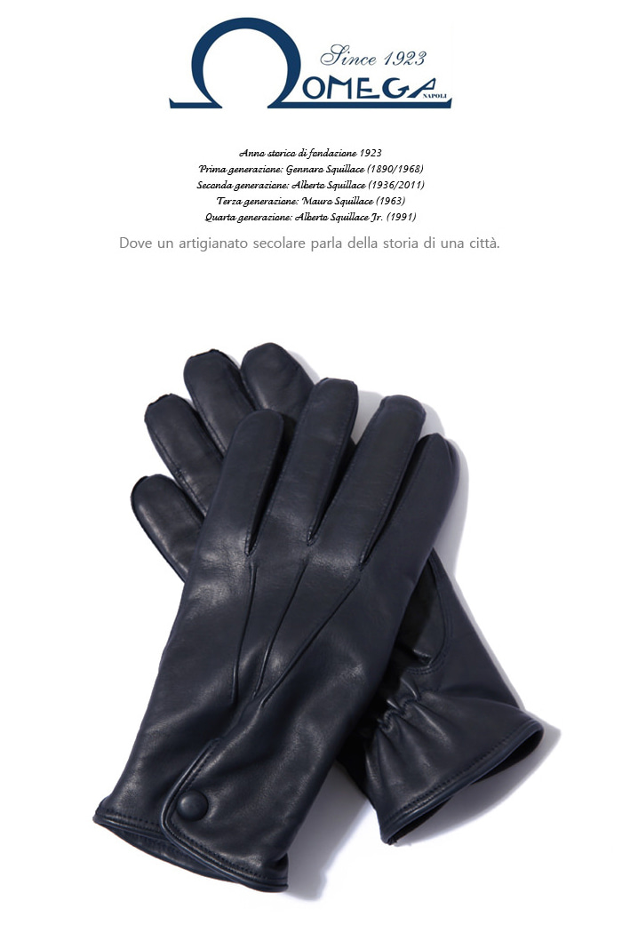 Take320 italy Omega Gloves/dark navy